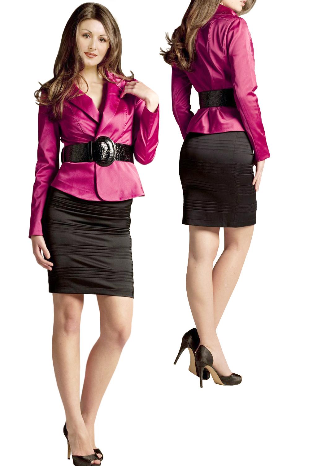 Pleated Sy Skirt Set