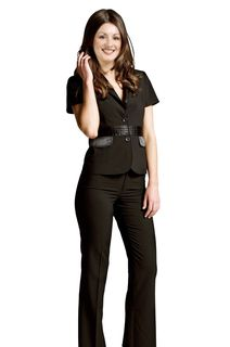 Short-Sleeved-Office-Pant-Suit